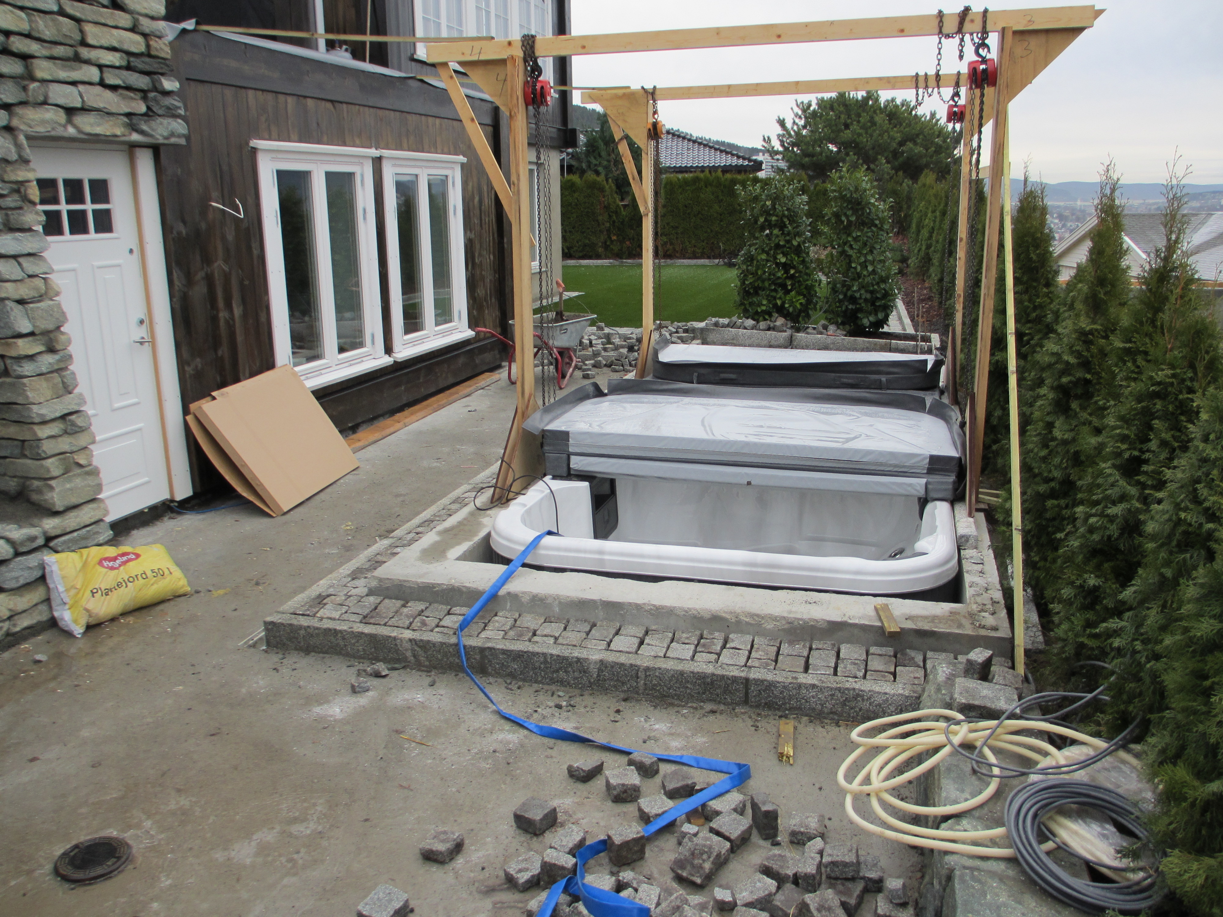 Plassering av svømmebasseng