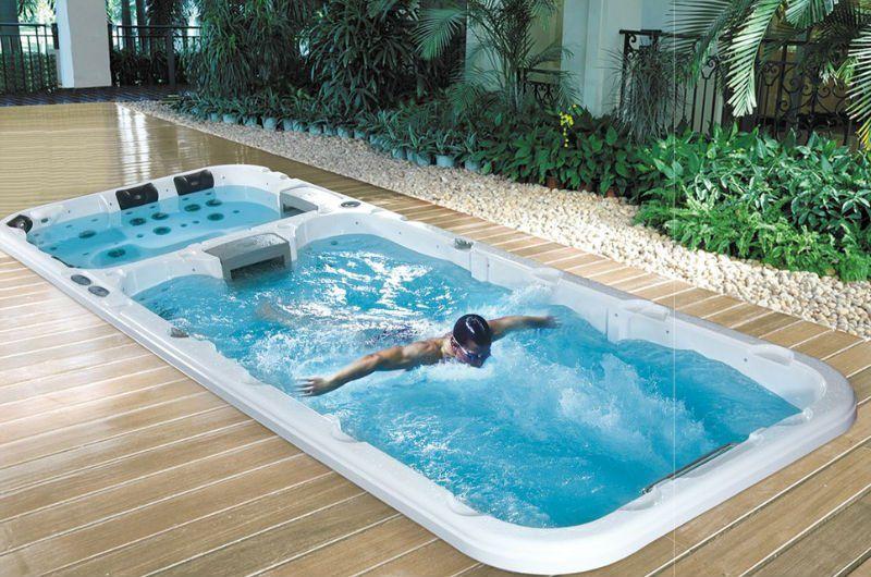 Varmeelement til lite basseng