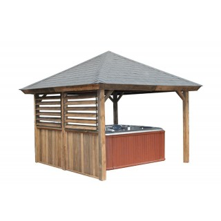 Gazebos Rustic Pyramid Roof