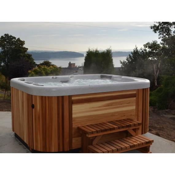 Boblebad Omega er et veldig fint massasjebad fra Coast Spa