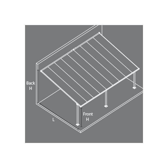 Kari Terrassetak 12,12 x 4 meter
