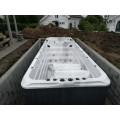 Svømmebasseng på terrassen