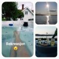 Massasjebad levert på hytte i Telemark