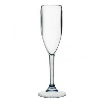 Uknuselige polycarbonat champagneglass 6 stk