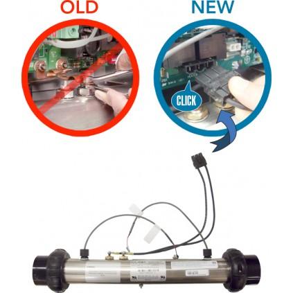 """Ny type heater 3.0kw Titanium M7 2""""x2"""""""