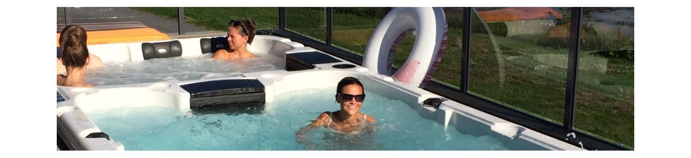 Energy Swimspa er det beste svømmebassenget du får i hagen din. Billig og rask levering